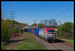 PKP Cargo 193 502, Bottrop 21-04-2016 (Henk Zwoferink) Tags: 5 siemens cargo 370 014 henk 193 502 pkp vectron zwoferink eu46 x4e 42487 br193 eu46502 małaszewicze