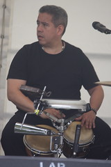Bahareque (2016) 13 (KM's Live Music shots) Tags: drums venezuela worldmusic bongos bahareque barkingfolkfestival wilmersifontes abbeygreenbarking