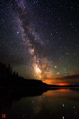 Milky Way Over Jackson Lake (1) (Pei) Tags: lake night stars grand jackson teton