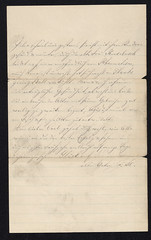 1888 Jacob to Carl (Max Kade Institute for German-American Studies) Tags: family handwriting familie genealogy script handwritten cursive sternberger kurrent