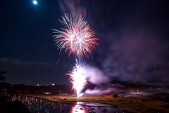 Blown (Jim Nix / Nomadic Pursuits) Tags: travel moon austin photography fireworks explosion full 4thofjuly lakeaustin nomadicpursuits macphun jimnix aurorahdrpro