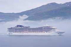 KEH65846 - MSC Splendida (Knut Erik Hheim) Tags: cruise cloud fog vessel