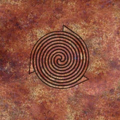 Spiral (chrisinplymouth) Tags: abstract art square spiral design artwork pattern image digitalart symmetry curl coil whorl spirality cw69x cw69sym