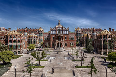Hospital Sant Pau (Jaime A Ballestero) Tags: barcelona santacruz hospital santpau sanpablo jaimea