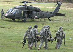 Simulated casualty (The U.S. Army) Tags: usa us louisiana unitedstatesofamerica fortpolk jrtc