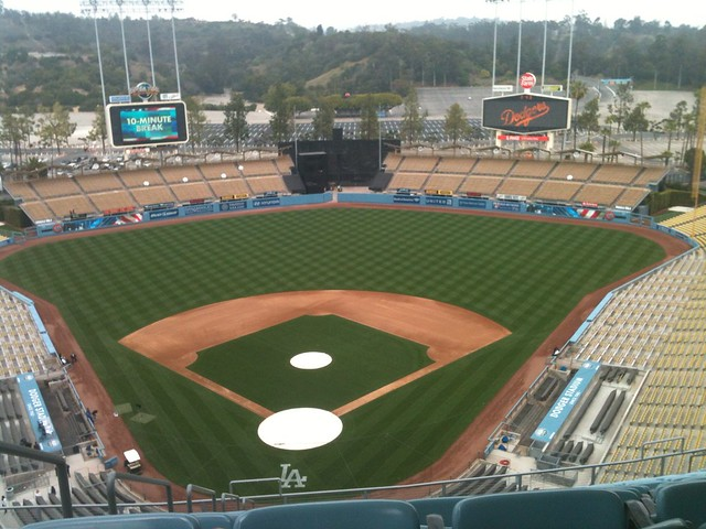 Dodger Stadium is Looking Good!