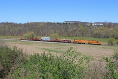 Harmony Junction, Harmony, Pa (W&LE45) Tags: newcastle butler bp pw ble sd40t2 gp9 gp40 buffalopittsburgh bessemerlakeerie btnc