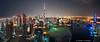Spaceport Dubai (DanielKHC) Tags: city panorama night digital lights bay nikon dubai uae business khalifa dri hdr burj blending d300 danielcheong danielkhc tokina1116mmf28