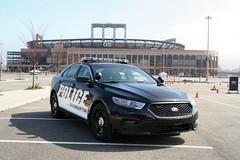 2013 Ford Police Interceptor (Alex Nunez) Tags: auto nyc ny newyork ford car automobile police queens american policecar taurus lawenforcement interceptor flushing willetspoint 2013 citifield
