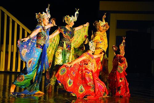 danze tradizionali javanesi