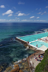 Bondi beach and pool, Sydney (cathm2) Tags: travel sea holiday beach bondi sydney australia nsw