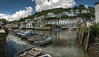 Polperro (_ justintheframe_) Tags: boats nikon cornwall harbour polperro gettyimages tonemapped d300s justintheframe