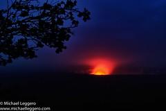 Klauea volcano (Michael Leggero) Tags: sunset tree nature night sunrise island volcano hawaii michael branch unitedstates dusk northamerica leggero klauea