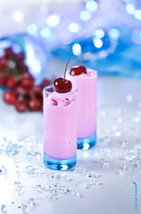 (Fahad Al-Robah) Tags: pink blue food ice cherries cream rosy  appetite