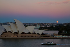 No Water No Moon (wishvesh) Tags: sydney fullmoon moonrise operahouse sydneyharbour