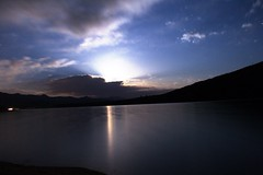Lake Hemet Moon Rise best (charlesmonroe98) Tags: california pink lake fish fishing meat tagged hemet idyllwild trout