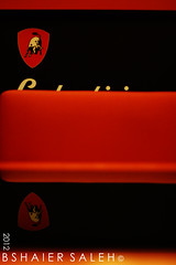 Lamborghini (Bshaier Saleh) Tags: red white black canon mall cafe ox arab saudi arabia jeddah lamborghini caffe ksa             saelh  1000d     bshaier bshaiers fahdv fahzv
