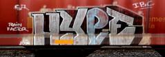 Hype (Grimey  Trains) Tags: canada train graffiti hype burner bomb freight ibc