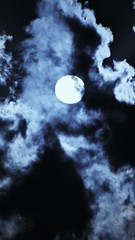Moon (NockOffProductions) Tags: sky cloud moon night bright