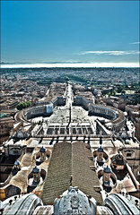 Rome, Italy - HDR (Stuart-Saunders) Tags: city italy vatican rome nikon view holy hdr 2470mm d700