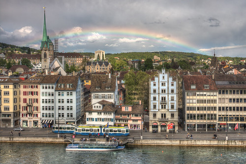 Rainbow Over Zurich