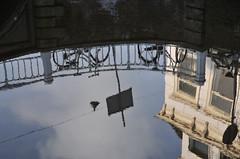 Wasserspiegelung Delft, Niederlande