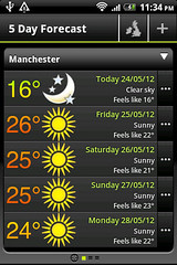 MetOffice forecasts endless sunshine in Manchester, quick take a picture! (dullhunk) Tags: sun sunshine weather manchester sunny forecast      metoffice