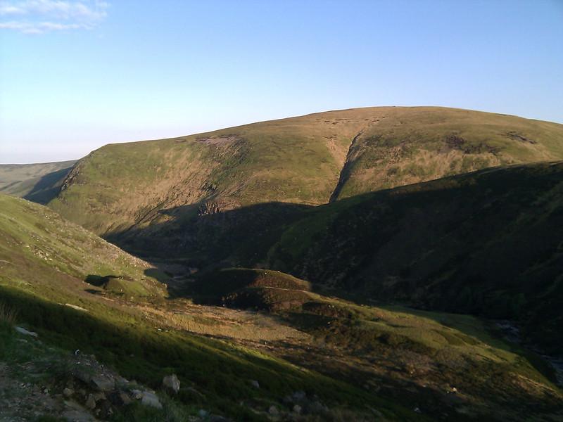 Point 692 above Glen Lethnot