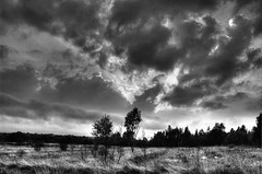 Red Moss #2 (Gary Danton) Tags: red sky white black clouds digital photoshop moss nikon moody bolton hdr horwich photomatix d40 sssi