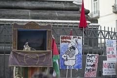 Pulcinella in Palestina (Cau Napoli) Tags: noa palestina israele piazzasandomenico boicottaggio napoliteatrofestival pulcinellainpalestina brunoleone napolistayhumanfestival