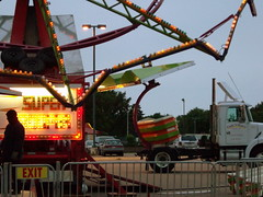 Tub On The Super Trooper. (dccradio) Tags: carnival wisconsin mall parkinglot wi amusements marshfield dairyfest shoppesatwoodridge earlsrides