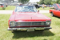 66 Plymouth Satellite (Crown Star Images) Tags: park county minnesota fairgrounds big midwest head 1966 66 block hemi mopar six mn dakota slant wedge sixty nineteen mopars pentastar nineteensixtysix