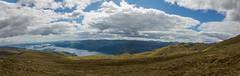Loch Lomond (Bryan Harkin) Tags: sky panorama mountain water clouds canon river scotland amazing scenery view ben great hills stunning loch dumbarton lomond balloch 550d
