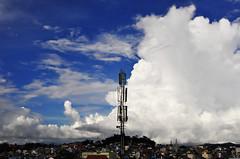Dalat city Vietnam (e.nhan) Tags: city blue sky cloud clouds vietnam dalat enhan