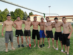 Wrestlers and friends (d.mavro) Tags: body wrestling traditional greece wrestler biceps serres yunanistan grecoroman pehlivan athlet serez skutari