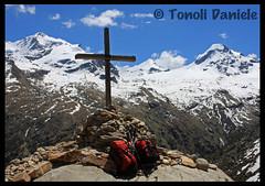 Croce Roley (Daniele Tonoli) Tags: panorama natura belvedere montagna aosta croce valledaosta granparadiso valsavarenche croceroley