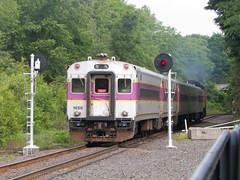 MBTA (Littlerailroader) Tags: train reading publictransportation newengland trains transportation mbta mbcr passengertrains massachuetts commutertrains readingmassachusetts