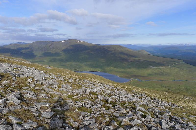 Chno Dearg and Loch Ghuilbinn