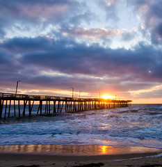Good morning sunshine! (Michael Kline) Tags: beach june sunrise dawn va virginiabeach 2012