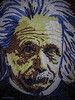 Albert Einstein in Mosaic