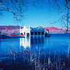 Banyoles (santisss) Tags: kodak hasselblad infrared eir banyoles estany infrarrojo infraredfilm infraredcolor hasselblad503 hasselblad503cx aerochrome infraroig planart80
