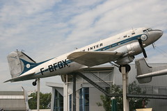 F-BFGX Speyer 1-9-2011 (Plane Buddy) Tags: germany douglas dc3 airfrance speyer technikmuseum airinter fbfgx