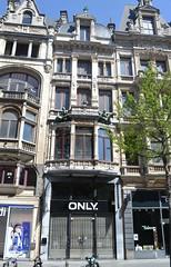 Leysstraat 21, Antwerpen (Erf-goed.be) Tags: geotagged antwerpen archeonet leysstraat winkelhuis geo:lat=512184 geo:lon=44139