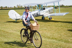 WRAF on a bicycle (Paul Braham Photography) Tags: tractor bus car bike bicycle sportscar omnibus farmmachinery