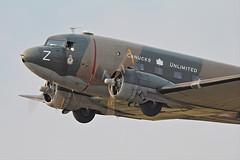 DC-3 Dakota - Canucks Unlimited (Derek Mickeloff) Tags: canon airshow dc3 dakota brantford cwh 60d canucksunlimited