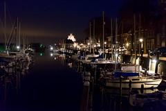 Hafen bei Nacht (willis   photo) Tags: holland night wasser nacht harbour urlaub zeeland boote netherland hafen nordsee mrz nordseeurlaub2016 ostern2016