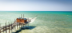 Trabocchetti (SteTre.) Tags: blue sea italy water landscape fishing europe it nets paesaggio termoli molise