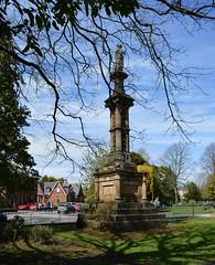 Howard Park, Kilmarnock. Dr. Alexander Marshall's Monument. (Phineas Redux) Tags: scotland kilmarnock ayrshire publicparks ayrshirescenes howardparkkilmarnock dralexandermarshallmonumentkilmarnock