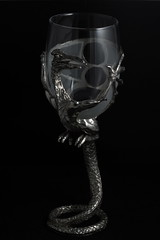 Winged Beast Glass (sr667) Tags: glass canon lordoftherings pewter ef100mmf28macrousm graemeanthony nazgulswingedbeast wingedbeastglass