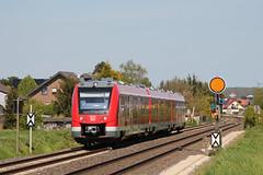 620 021 als RB 24 nach Kall in Weilerswist (fabian.kappel) Tags: train eisenbahn zug db eifel bahn 620 passengertrain voreifel dbregio weilerswist vorsignal formsignal